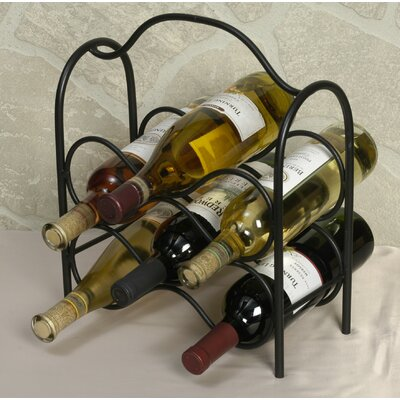 Ledbetter 6 Bottle Tabletop Wine Rack