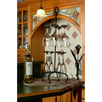 Tabletop Wine Glass Rack