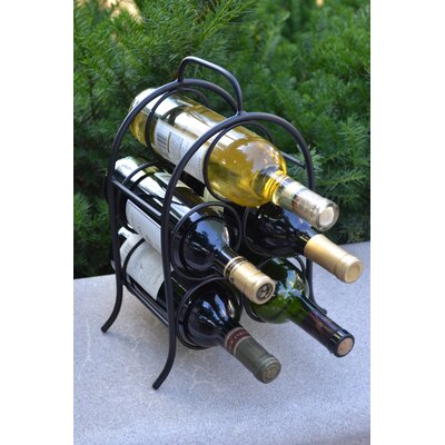 Leeland 5 Bottle Tabletop Wine Rack