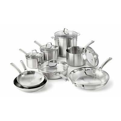 Stainless Steel 14 Piece Cookware Set