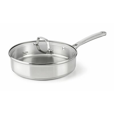 Stainless Steel 3-qt. Saute Pan