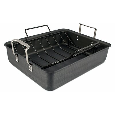 Classic Calphalon Hard Anodized Roaster and Rack