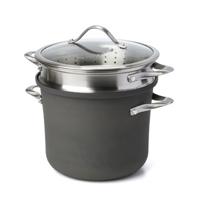 Contemporary Nonstick 8 Qt. Multi-Pot