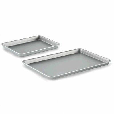 2 Piece Nonstick Baking Sheet and Brownie Pan Set