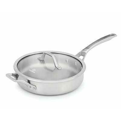 Calphalon Signature 3-qt. Saute Pan with Lid