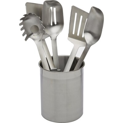 Stainless Steel Utensils 6 Piece Utensil Set