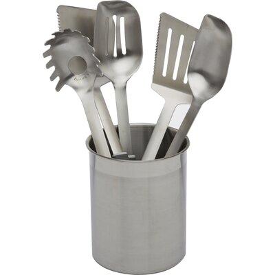 Stainless Steel Utensils 6 Piece Utensil Set