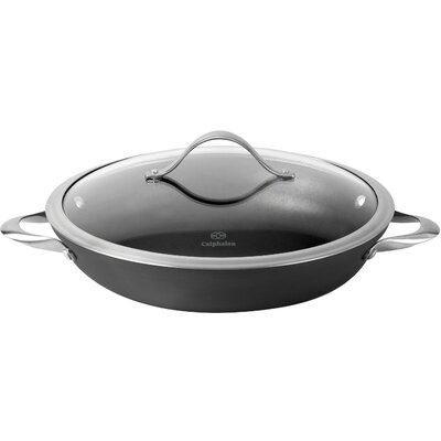 Contemporary 12 Non-Stick Frying Pan with Lid