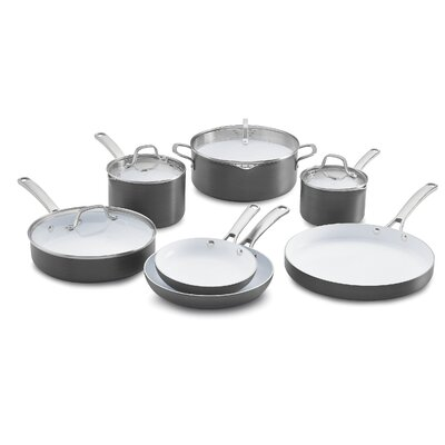 Classic Ceramic 11 Piece Non-Stick Cookware Set