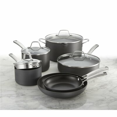 10 Piece Non-Stick Cookware Set (Set of 2)