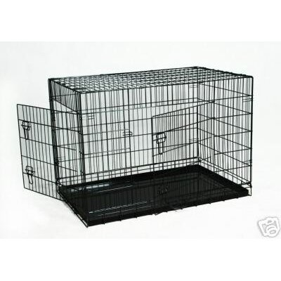 Pet Crate Size: Medium (20 H x 17 W x 24 L)