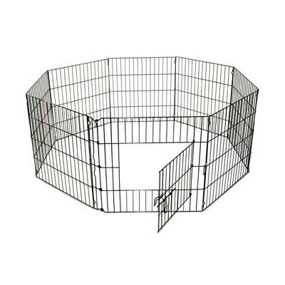 24 8 Panel Exercise Dog Pen