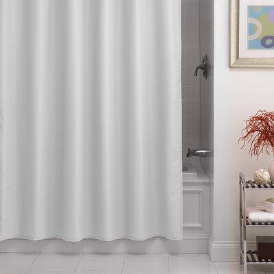 Betances Shower Curtain Liner Color: White
