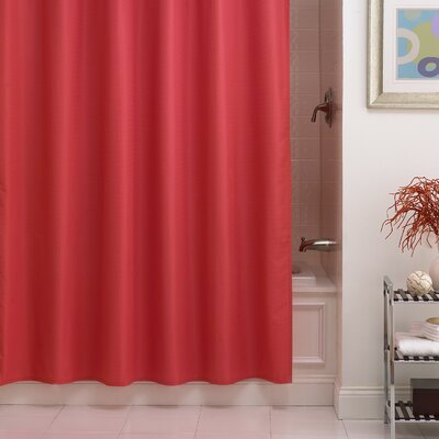 Betances Shower Curtain Liner Color: Salmon