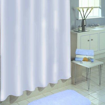 Vinyl Shower Curtain Liner Color: White