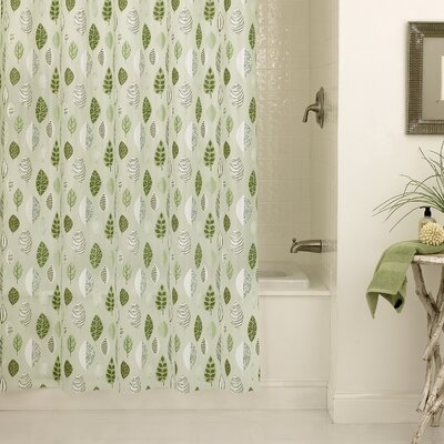 Hambly PEVA Leaflets Shower Curtain