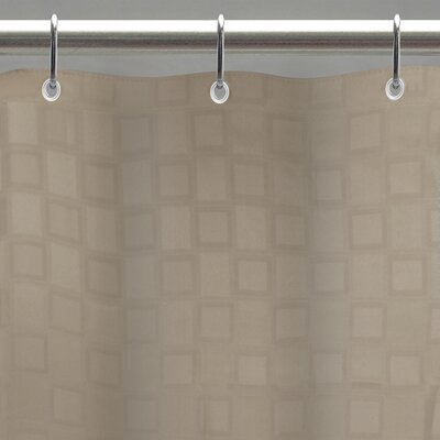 Idell Shower Curtain Liner Color: Pumice