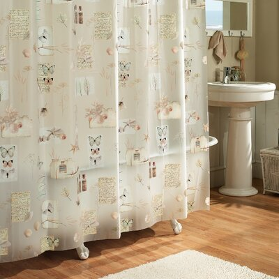 Janey Natures Moments 100% PEVA Shower Curtain