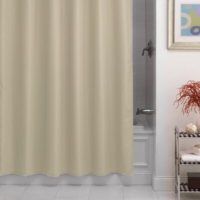 Santalaris Fabric Shower Curtain Liner Color: Vanilla