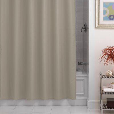 Santalaris Fabric Shower Curtain Liner Color: Linen