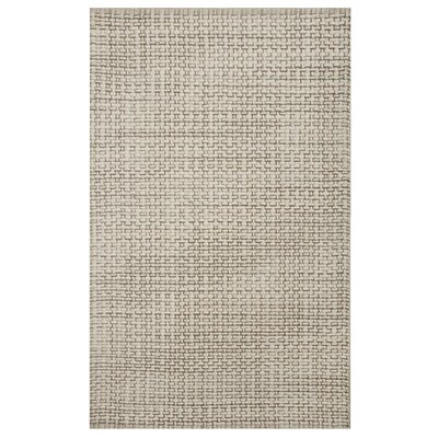 Jodie Hand-Woven Natural Area Rug Rug Size: Rectangle 5 x 8