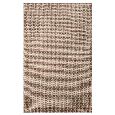 Jodie Hand-Woven Spice Area Rug Rug Size: Rectangle 8 x 10