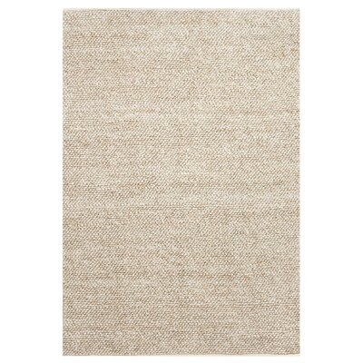 Jason Hand-Woven Natural Area Rug Rug Size: Rectangle 4 x 6