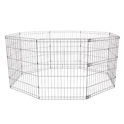 Dogit Indoor/Outdoor Playpen Size: X-Small - 17.7 H x 81.75 W x 81.75 L