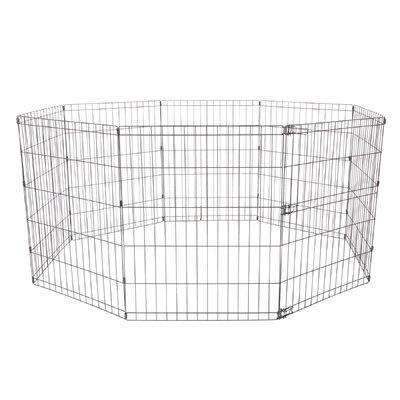 Dogit Indoor/Outdoor Playpen Size: Medium - 29.2 H x 81.75 W x 81.75 L