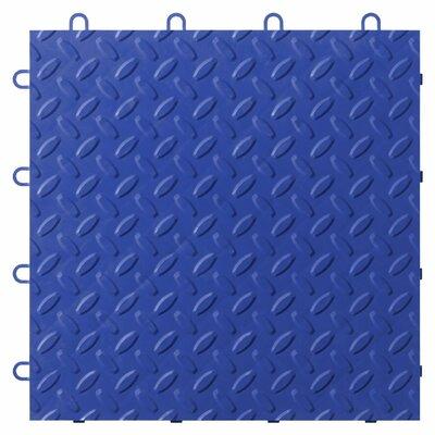 24-Pack Garage Floor Tile Color: Blue