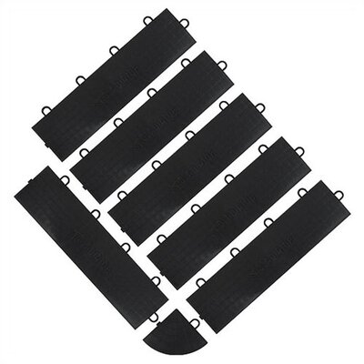 Floor Tile Female Edge Trim (6-Pack)