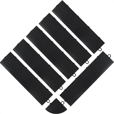 Floor Tile Male Edge Trim (6-Pack)