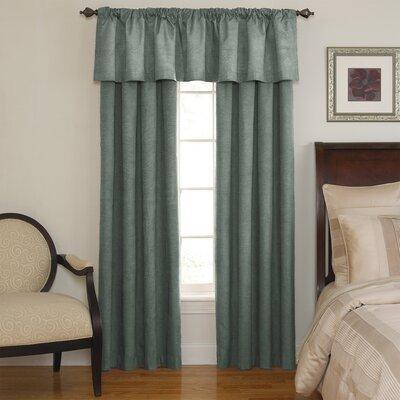 Sound Asleep Room Darkening Rod Pocket Window Curtain Panel - Size: 63