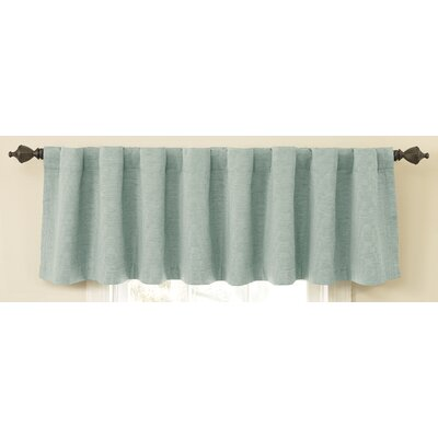 Sound Asleep Room Darkening Backtab Tailored Window Valance - Color: Blue River at Sears.com