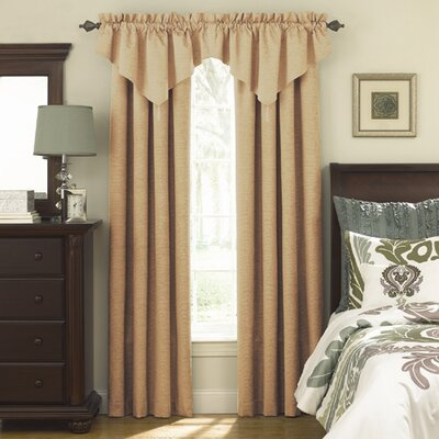 "Sound Asleep Room Darkening Ascot 42"" Curtain Valance - Color: Caf� at Sears.com"