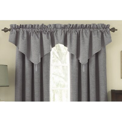 "Sound Asleep Room Darkening Ascot 42"" Curtain Valance - Color: Grey at Sears.com"