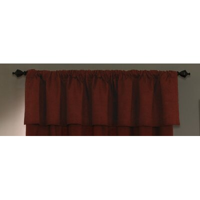 Sound Asleep Room Darkening Backtab Tailored Window Valance - Color: Sangria at Sears.com