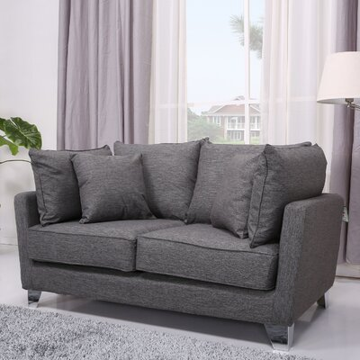 ADC-LEX-LOV-NIX-GRA XQS1209 Gold Sparrow Lexington Loveseat