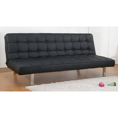 Vegas Sleeper Sofa Upholstery: Black