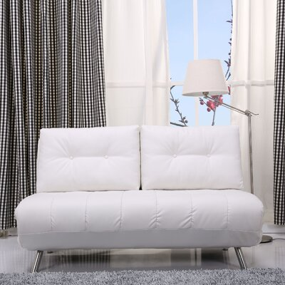 Gold Sparrow ADC-TAM-CLS-PUX-WHI Tampa Convertible Loveseat