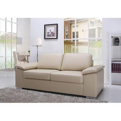 Hampton Loveseat Upholstery: Beige