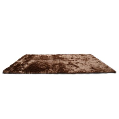 Coffee Area Rug Rug Size: 8 x 10