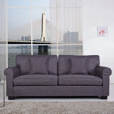 Pittsburgh Sofa Upholstery: Dark Gray
