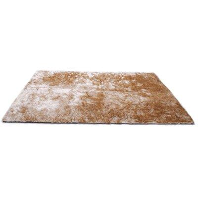 Tan Area Rug Rug Size: 8 x 10