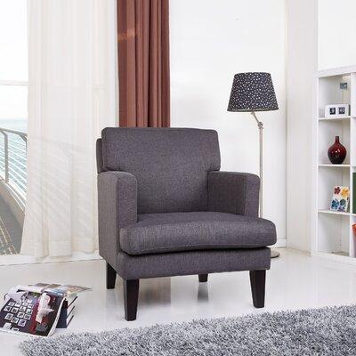 Tulsa Armchair Upholstery: Gray