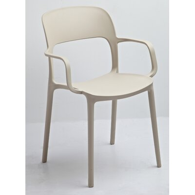 Jason Arm Chair Color: Beige