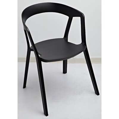 Anton Armchair Color: Black