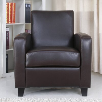 Stockton Armchair Upholstery: Chocolate