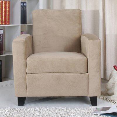 Stockton Arm Chair Upholstery: Khaki