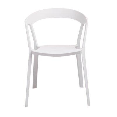 Anton Armchair Color: White